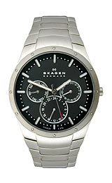 Skagen Disney Mickey Silhouette Titanium Mens watch #D596XLTXM
