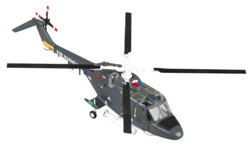 Easy Model 1:72 Scale Westland Lynx Has.2 UH-14 No.7 Sqn Royal Netherlands, Naval Model Kit by Easymodel