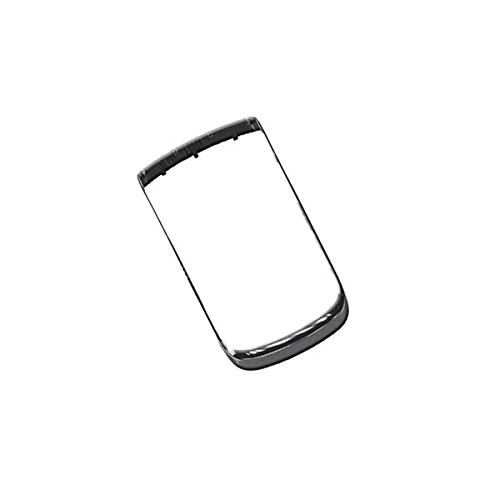 BisLinks® Silver Bezel For Blackberry Torch 9800 9810 Housing Frame Faceplate - Pearl Blackberry Faceplates