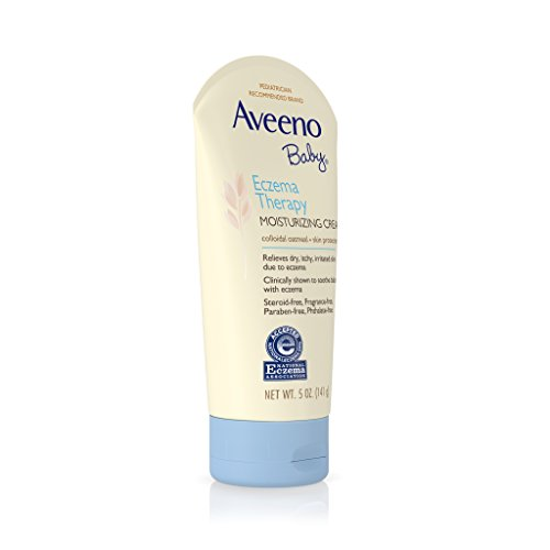 Aveeno Baby Eczema Therapy Moisturizing Cream For Dry Skin