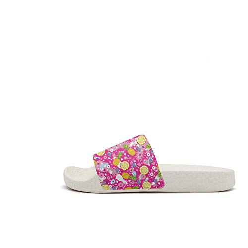 Tropical Fruit Fashion Pink Pineapples Slippers Pineapple Repeat Womens Sandals Casual RIOTO6g