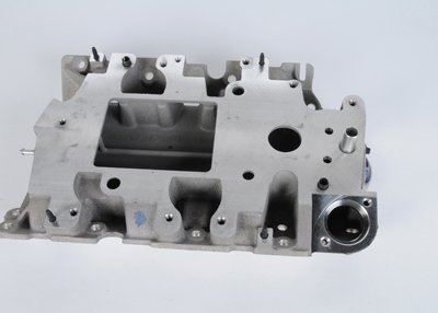 ACDelco 12603871 GM Original Equipment Lower Intake Manifold Kit with Tubes, Gasket, Bolt, Stud, and ()