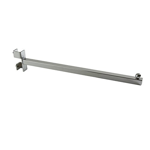 Econoco Twist-On Straight Arm for Square Tubing Rack, 16