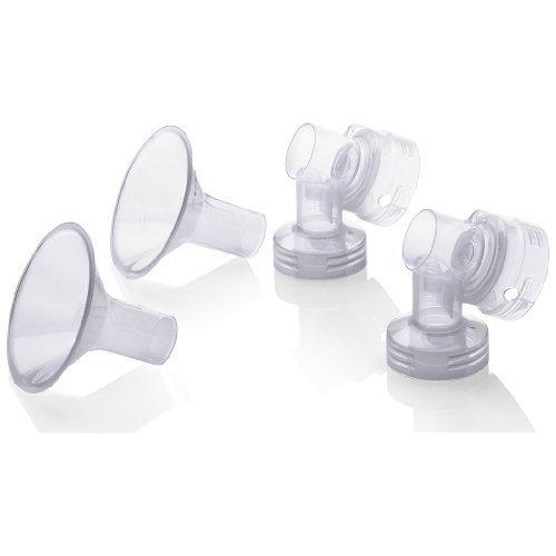 Medela Personal Fit Breastshield Connectors WITH Personal Fit Large 27 mm Breastshields, 2-pk by Medela [並行輸入品]   B00ZSR8PBQ
