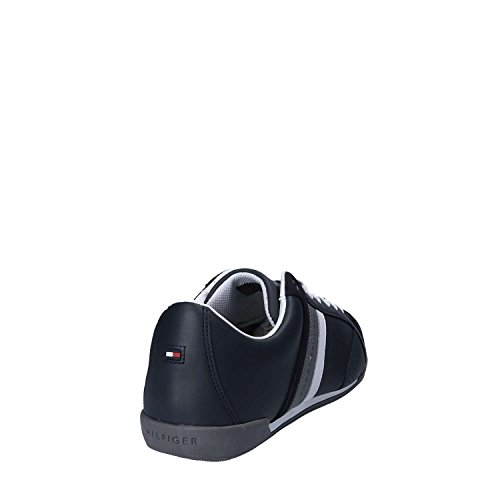 Tommy Hilfiger Herren Corporate Material Mix Cupsole Sneaker Blue