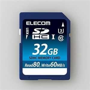 Elecom UHS-/‡T U3 support SDHC memory card 32GB MF-FS032GU13R