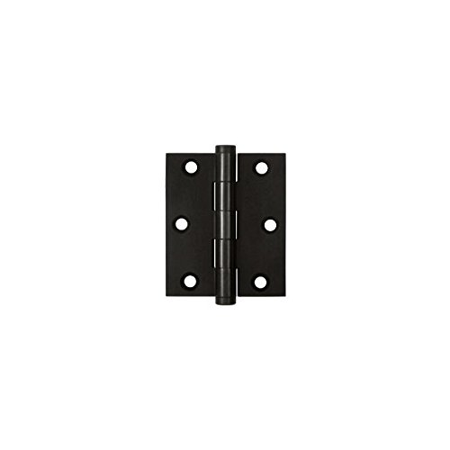 (Deltana DSB3025U19 Solid Brass 3-Inch x 2 1/2-Inch Screen Door Hinge)