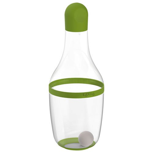 Lekue Salad Dressing Shaker, Green