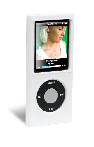 iFrogz iPod Nano 4G Wrapz Silicone Case (White) (Ipod Ifrogz Nano)