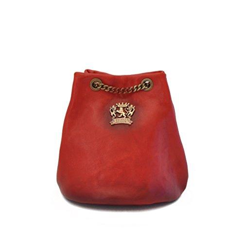 Pratesi Pienza bolsa de cuero - B159 Bruce (Coñac) Cereza