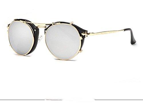 plata Limotai Sol Gafas mirro W Conducción Nuevos Solgafas Hombre Azul Lujo Gafas De Lentes Sol W Gafas Gafas De negro De Mujer De Mujer De Azul Espejo De Sol ppqxTwdr