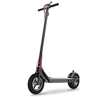 RND M1 Commuting Electric Scooter Foldable with Foot Control Accelerator, 10.5'' Explosion-Proof Vacuum Tire, E-ABS Disc Dual Brake, 350W Motor Detachable Battery Max Speed 18.64MPH, Max Weight 220lbs