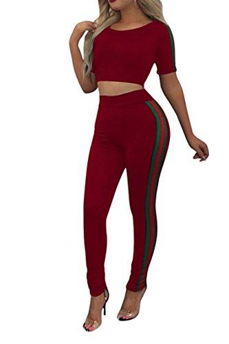 PinkWind Teenagers Daily Wear Short Sleeve Sweatshirts Pajama Romper 2Pcs Suits (Rompers Teenager)