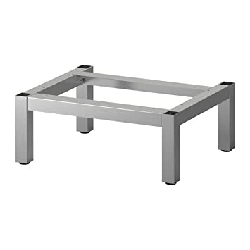 IKEA LILLÅNGEN Untergestell aus Edelstahl; (39x32x15cm): Amazon.de ...