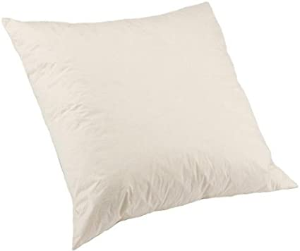 Classic Home Store 100 Natural Duck Feather Cushion Pads With Cotton Cover Scatter Cushions Filling Inner 21 X 21