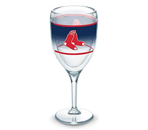 Tervis 9oz Wine Glass: MLB Boston Red Sox Original ()