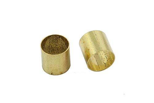 5 Brass Sleeves Convert Split Shaft Pot Shaft to Solid Allparts - Sleeve Brass