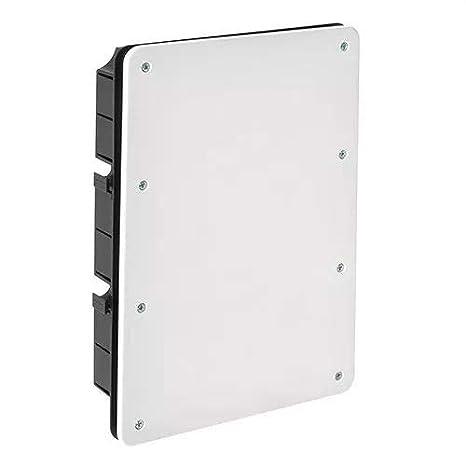 IDE CT326 IP33 Caja de Derivación de Empotrar con Tapa con ...