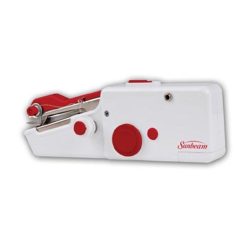 Sunbeam Portable Cordless Handheld Sewing Machine Red