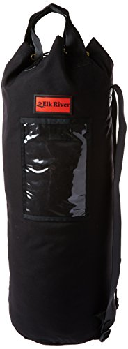 Elk River 84311 EZE-Man Nylon Rope Bag with Drawstring Closure, 12'' Width x 32'' Depth by Elk River