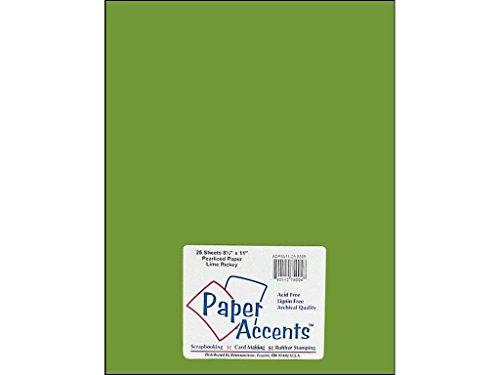 Accent Design Paper Accents ADP8511-25.8805 - Cartulina perlada (8,5 x 28 cm), color verde