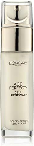 L'Oréal Paris Age Perfect Cell Renewal Golden Face Serum, 1 fl. oz.