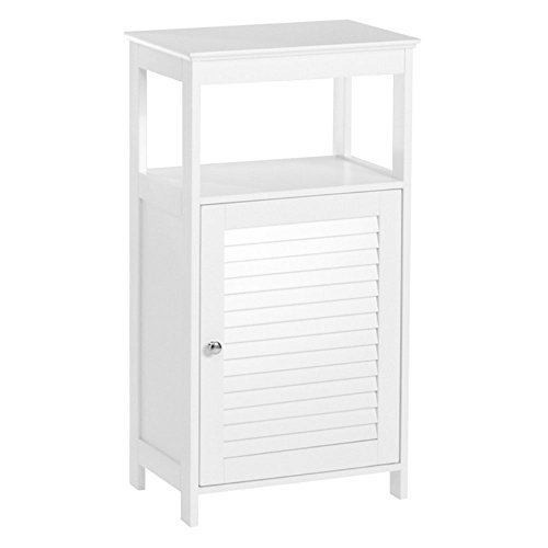 RiverRidge Ellsworth Collection Single Door Floor Cabinet, White
