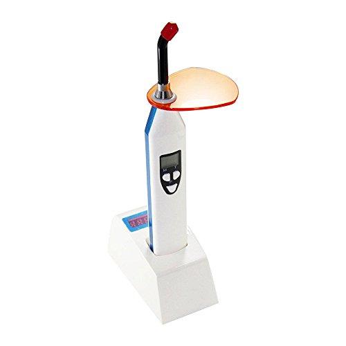 Dental Power Dental LED Curing Light White & Blue Light Build in Dentist Lightmeter Wireless with Caries Detector Flourescenc Function(Blue)