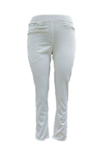 Straight Sugar Femme blanc Jeans Leg Crisp Blanc gw0qB