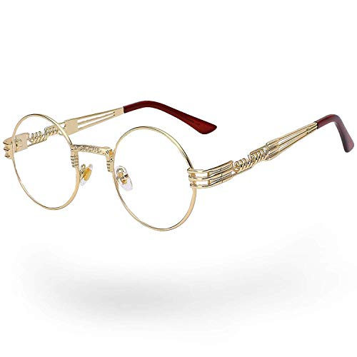 Quavo Glasses, John Lennon Glasses. Same Steampunk Glasses Seen on The Migos.