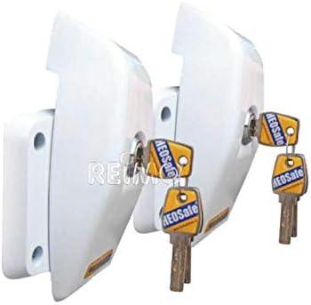 Heosolution Van Security Für Schiebe Heck Und Flügeltüren 2er Set 9329467403 Küche Haushalt