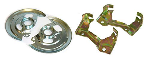 Disc Brake Caliper Mounting Brackets & Dust Shields/Plates 64-72 GM A,F,X - Brake Dust Caliper Shields