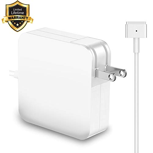 Mac Book Pro Charger, Replacement 85W MagSafe 2 Power Adapter Magnetic T-Tip Charger Compatible with Mac Book Pro 15-inch with Retina Display(After Mid 2012 Models)
