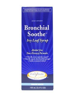 Enzymatic Therapy Bronchial Soothe 120 Milliliter (4.05 FL Ounces) Syrup. (Pack of 2)