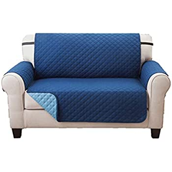 Amazon Com Deluxe Reversible Loveseat Slipcover