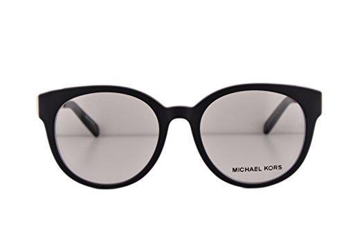 Michael Kors MK8010 Galicia Eyeglasses 50-18-135 Black 3022 MK 8010 (FRAME - 2016 Michael Eyeglass Frames Kors