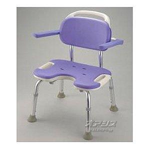 豊通オールライフ (94304) シャワーベンチGR ワイド 背付 (肘掛け無し 座面高さ:5段階調節 組立簡単) シャワーチェア B003ECZRNG ワイド|背付  ワイド