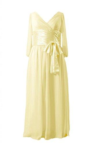 banana bridesmaid dresses - 3