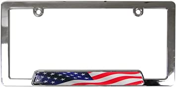 Chrome License Plate Frame My Other Ride Is A Hot Rod Auto Accessory Novelty