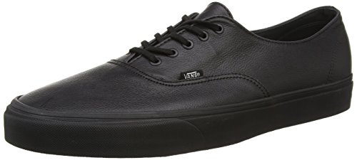 Black Decon Top Low Authentic Vans Schwarz Black Herren aw5H0HOq