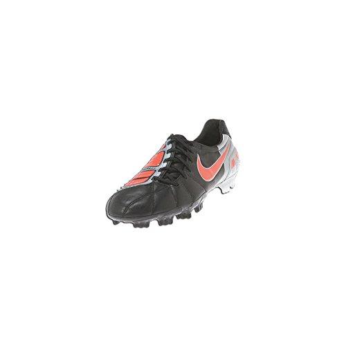 Nike Mens Tacchetti Da Calcio Total90 Laser Iii K-fg Nero / Rosso / Argento Metallizzato Sz 7