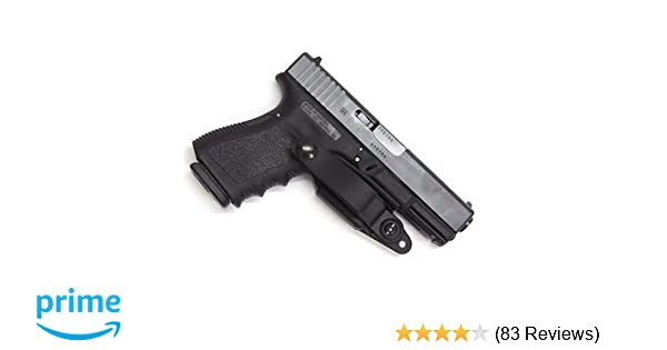 Raven Concealment Systems Ambidextrous Vanguard 2 Basic IWB Holster Kit  Fits Glock Gen3/4, Black