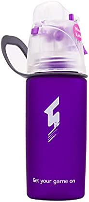 Qshare Misting Water Bottle, Spray Mist Sports Bottle for Outdoor Sport Hydration and Cooling Down, FDA Approv