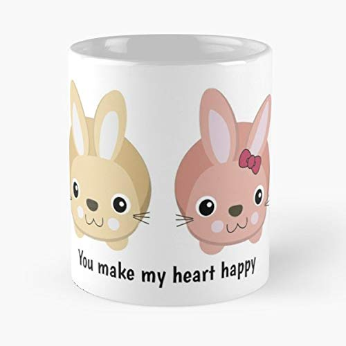 Heart Happy Valentines Love Gift Coffee/tea Ceramic Mug Father Day ()