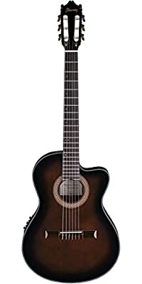 Ibanez GA35TCEDVS Acoustic/Electric Guitar - Dark Violin Burst from Ibanez
