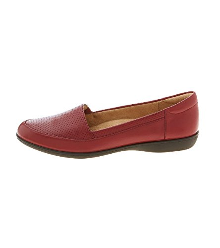 Lorraine Loafers Toe Closed Womens Red Naturalizer BO5xwfaFqS