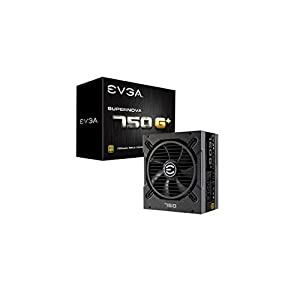 EVGA SuperNOVA 750 G1+, 80 Plus Gold 750W, Fully Modular, FDB Fan, 10 Year Warranty, Includes Power ON Self Tester, Power Supply 120-GP-0750-X1