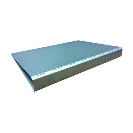 Raccoglitore ad anelli detectabile in alluminio
