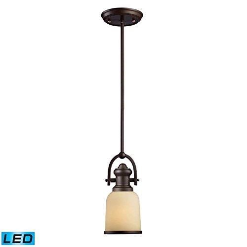 Elk Lighting 66171-1-LED Pendant Light, Oiled Bronze