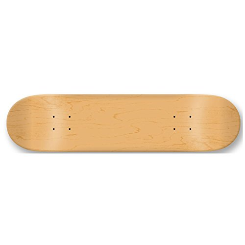 "Moose Blank 8.25"" Skateboard Deck (Natural)"